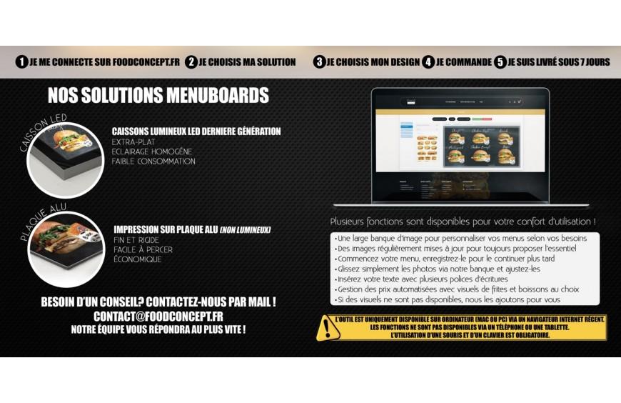 Lancement du site Food Concept